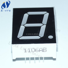 manufacturer 7 segment led display 1 inch lcd screen blue 24*34mm large 7 segment display