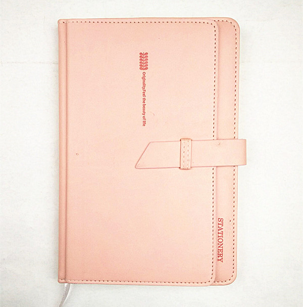 custom printed leather journals notebook with pen holder leather bound blank books