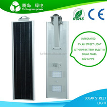 All in one 8w 12w 15w 18w 20w 25w 30w 40w 50w 60w 70w 80w led solar integrated street lights