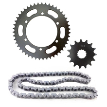 Motorcycle Chain and sprockets kits for Universal motorcycle