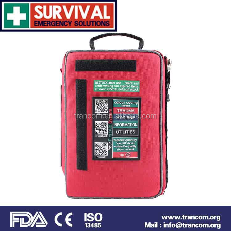 CE/FDA/TGA First Aid Kit SES01 2015 Hot Sale of first aid kit, emergency kit for travel and home