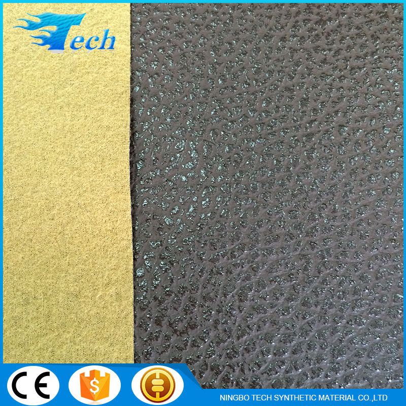 Wholesale From China Soft Sofa Pvc Artificial Leather Embossed Surface PVC Artificial Leather
