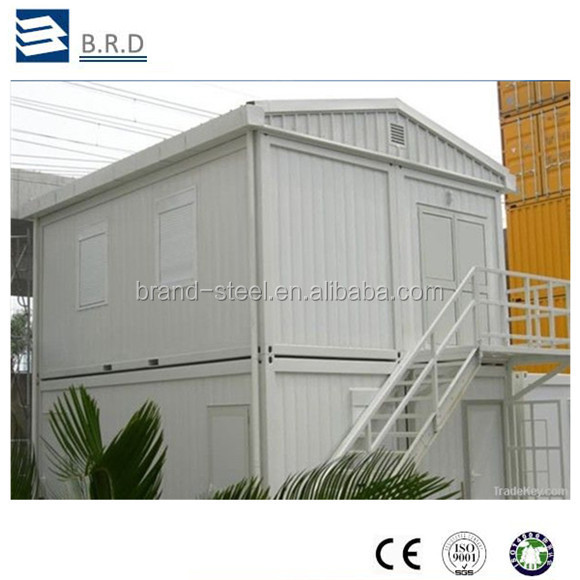 Hot sale easy installation low cost prefab container house