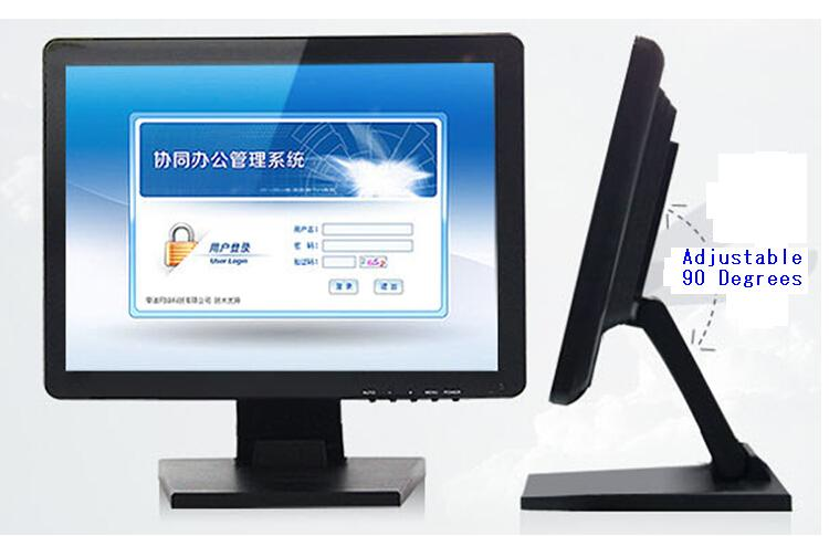 LKS-TM15 15 inch pos touch screen 4:3 1024*768 Industrial LCD monitor