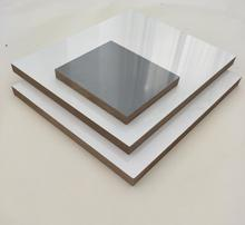 high gloss white 4x8 melamine laminated mdf board
