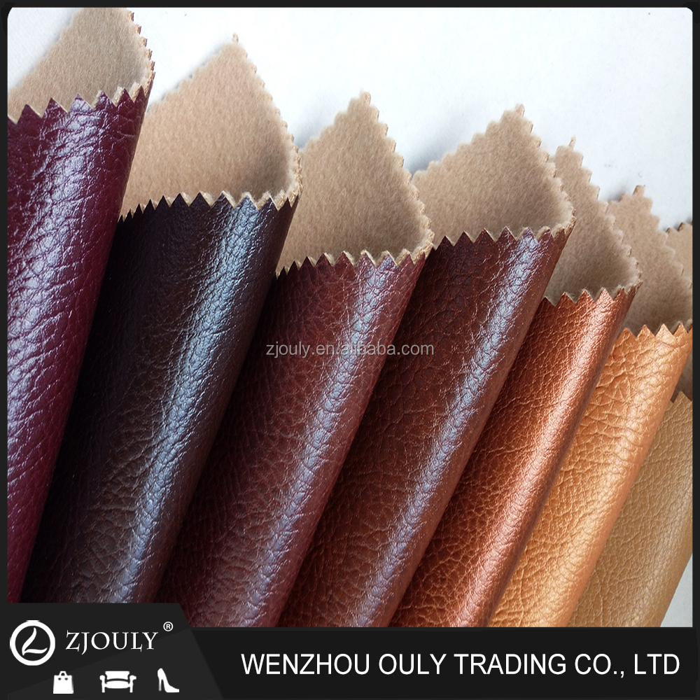 2016 high quality tones colour Breathable Durable use pu synthetic leather for sofa furniture