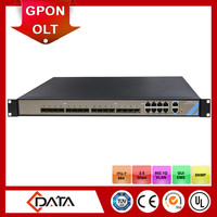 Network equipment shenzhen OLT device 2.5Gbps GPON OLT for Passive Optical Network FTTH
