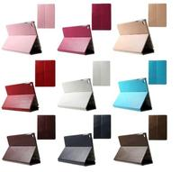 Flip Wallet Leather Cover for iPad Air 2 w/ Elastic Band