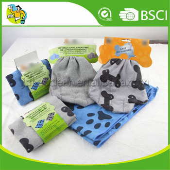 Ecellent 80 Polyester 20 Polyamide Microfiber Pet Drying Towel