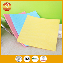 18*20*0.4cm cellulose sponge cloth in nice colour good quality
