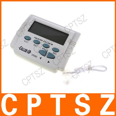 New Mobile Tele Display DTMF FSK Caller ID Box ,k124