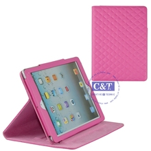 Wholesale Colorful leather case with stylus holder for ipad mini