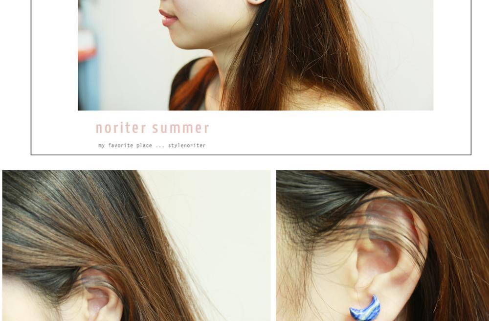 Geometric earring ear stud earrings unique shape charm earrings stud wholesale geometric design for women's accessories