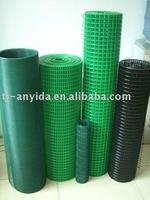 "GREEN PVC Welded Wire Mesh 3/8"" x 3/8"""