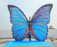 Vivid Huge Inflatable Butterfly, Air Blown Inflatable Insects/Animals Custom Balloon