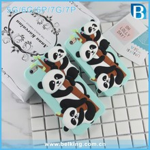 Custom 3D Silicone Phone Case for iPhone 5S Animal , for iphone 6 silicone case