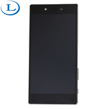 Mobile phone spare parts for sony xperia z5 hot sale item lcd screen panel unlocked original