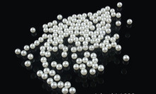 5mm Round Undrilled Pearls Wholesale Imitation Loose Pearl ABS Material Good Quality