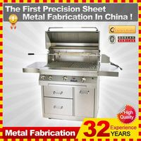 2014 Hot sale custom cast iron bbq grills with 32-year experience