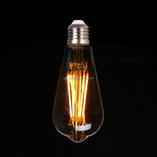 Decoration ST58 Edison bulb E27 E26 B22 Vintage Antique light bulb ST58 40/60W