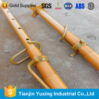 Tianjin yuxing -P20370 STK400 steel prop / prop jack support / adjustable shoring posts for Sale