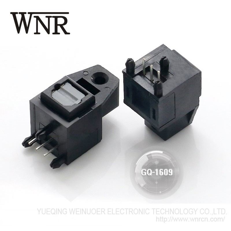 WNRE optical toslink jack GQ-1609 Optic Fiber Transmitter and Receiver