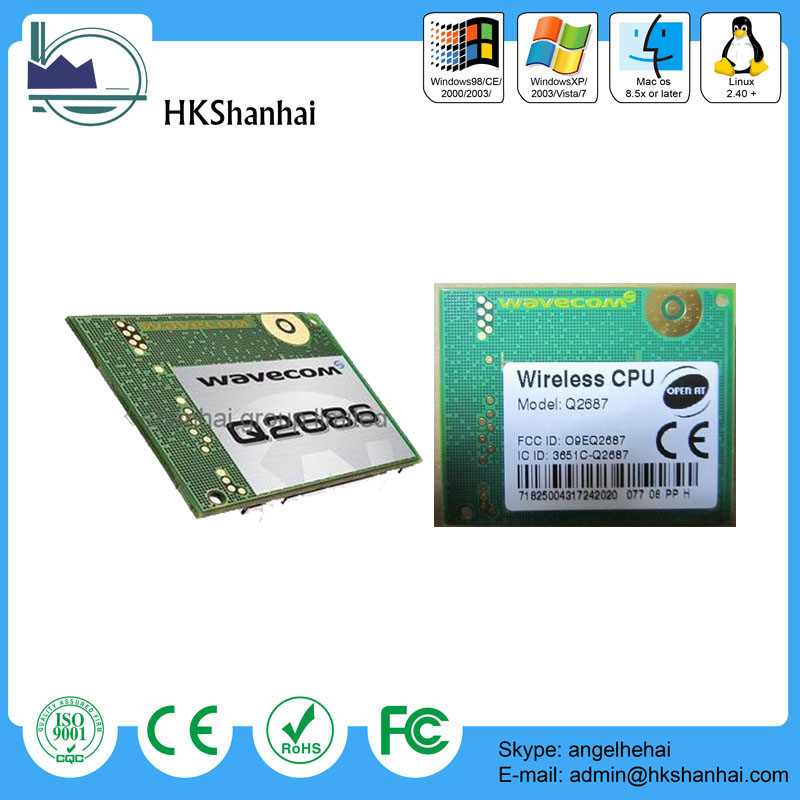 Hot sale wavecom module q2687 q2686 gsm/gprs module at command