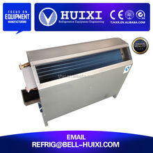 vertical hidden install ceiling fan heating thin fan coil unit for evaporator