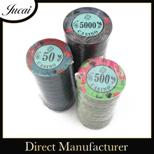 Top sell casino ceramic poker chips