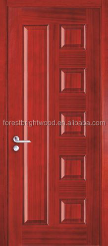 HDF Skin Luxury Interior Wooden Door