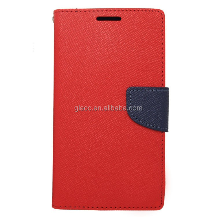 Image leather wallet of big skyeye mobile phone case for ZTE X4/Z956 with low price