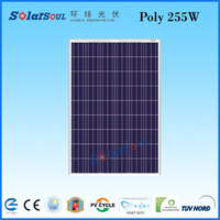 255w solar panel poly 54 cells solar photovoltaic module