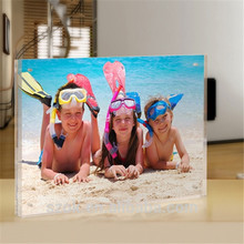 China manufacturer wholesale clear acrylic lovely children photo block