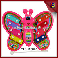 Cartoon butterfly xylophone electric organ baby play toy MCC156045