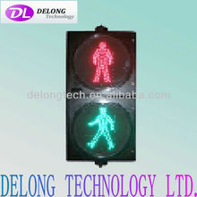 CE and RoHS waterproof red green 200mm dynamic led pedestrian signal lamp