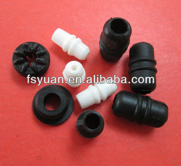 silicone grommet / silicone retain ring / silicone solenoid guard