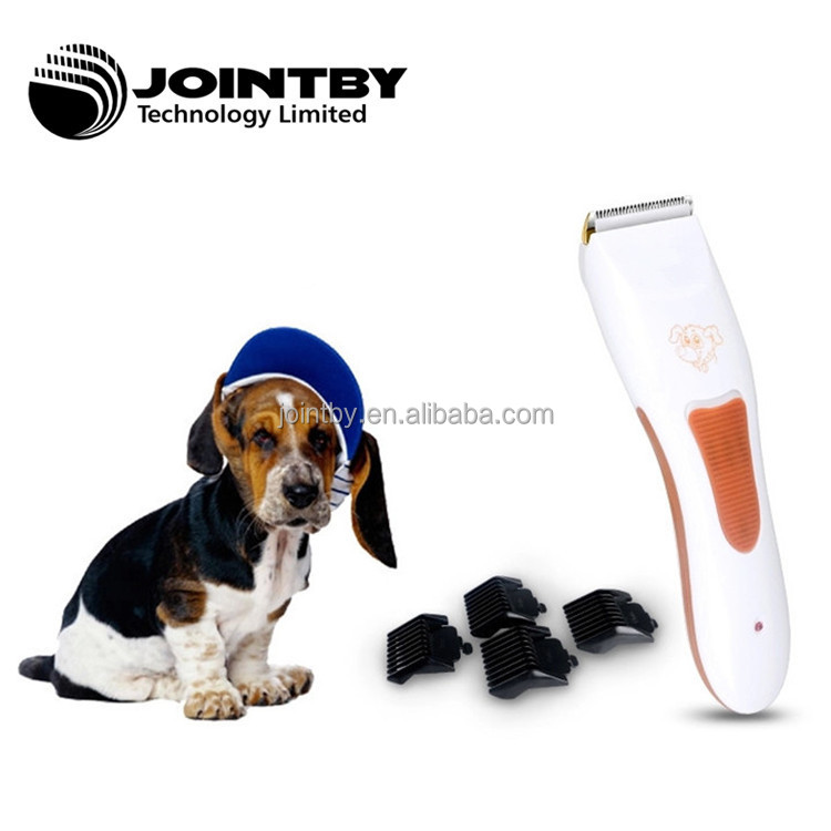 Rechargeable electric pet clipper Cordless dog hair clipper