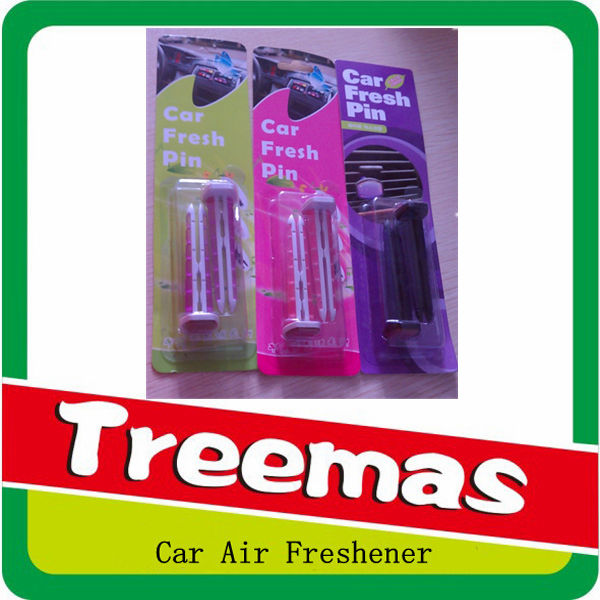 Retail perfume auto clip air freshener/ best price stock car vent stick air freshener