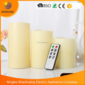 Wax 8 key Remote Control LED candles light timing candle 3pcs set candle