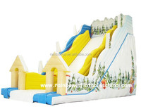 2016 cheap Giant inflatable slide high slide for sale