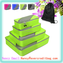4pc Set Travel Organizers Household Storage with Additional Laundry Bag