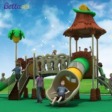 Betta children outdoor playground big slides for sale