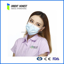 NON woven disposalbe surgical face-mask with anti bacteria function
