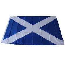 Wholesale Factory Direct Made 100% Polyester Scotland Flag
