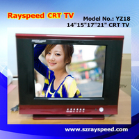 "Hot selling cheap chinese TV wholesale small size 15"" 17"" crt tv"