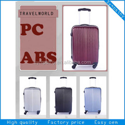 ABS plastic suitcase/travelmate luggage