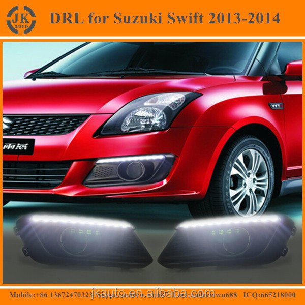 New Arrival LED Fog Light for Suzuki Swift Super Quality LED Daytime Running Lights for Suzuki Swift 2013 2014