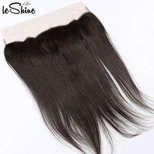 LeShine Hair Top Grade 9a Brazilian Human Hair Straight Frontal