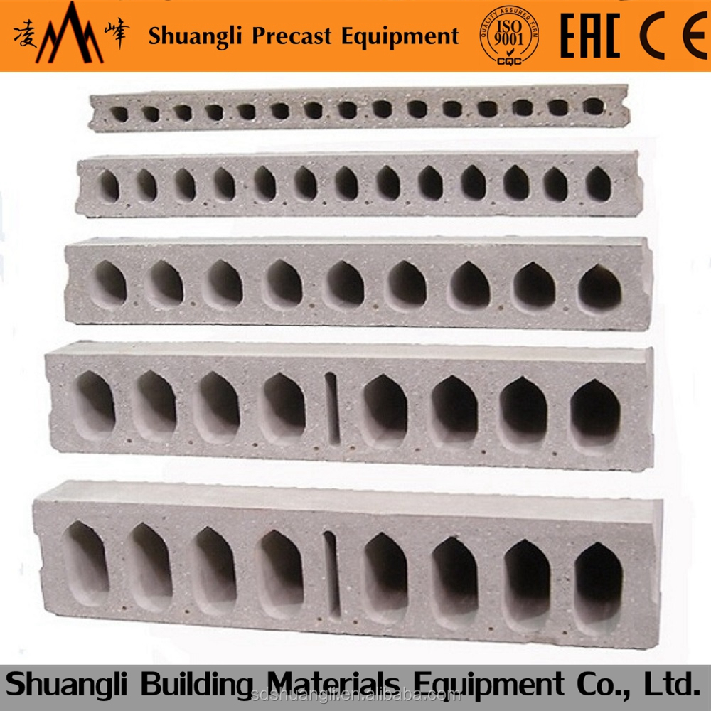 prestressed prices box precast concrete slabs making/forming machine for sale