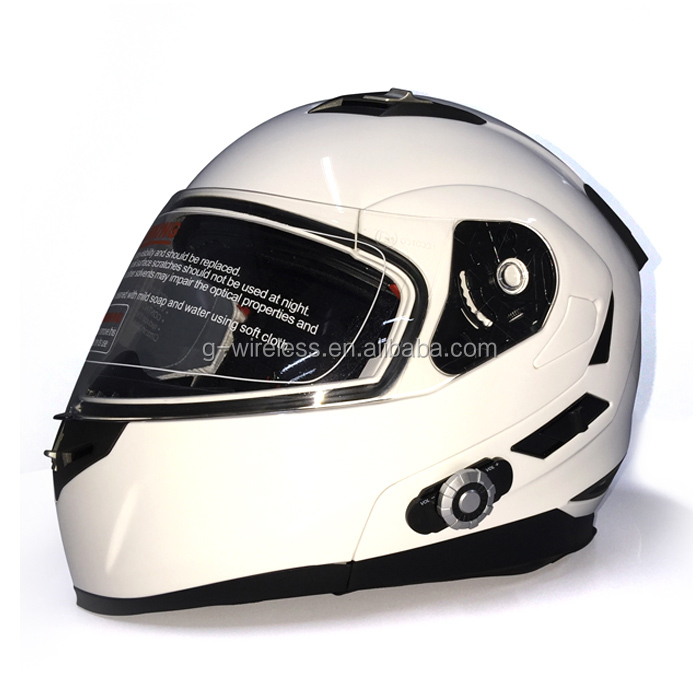 Full Face 300m Motorcycle 955 Bluetooth Helmet Type + BM2 Helmet with Bluetooth Device